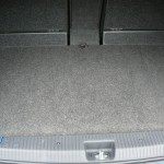 Vauxhall Meriva GSI boot install with cover - use of full boot for luggage...
