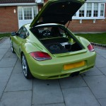 Porsche Cayman R - Sonic Reveal MM High End Car Audio SQ System With Custom Boot Install, Custom A-Pillar Fabrication