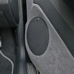 Skoda Fabia custom door fabrication by Sonic Frontiers