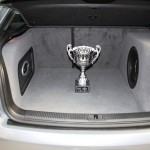 Audi A3 with the Sonic Punch system - 1st place at the EMMA competition London, Genesis Profile 4 Ultra, P4U, Morel Ultimo Sub, Pioneer P88RSII, DLS, Phass Speakers.