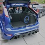 Sonic Punch High end Car Audio SQ System Ford Focus RS 400- Custom Boot Install, Custom A-Pillar Fabrication