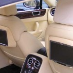 Bentley continental Flying spur brand new and unregistered for precise custom fabrication for rear screens built in to seats which obesely allow full motorisation to work